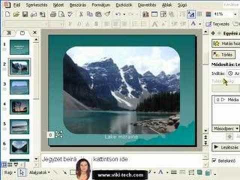 PowerPoint fényképalbum 2.-rész - YouTube