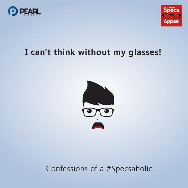 Something #specsoholics could easily relate with?