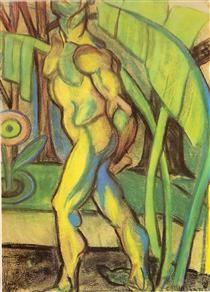 O homem de sete cores - Anita Malfatti