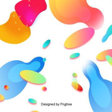 Abstract Colorful Geometric Gradient Fluid Technology Pattern, Geometry, Gradients, Fluids PNG Clipart Image and PSD File for Free Download