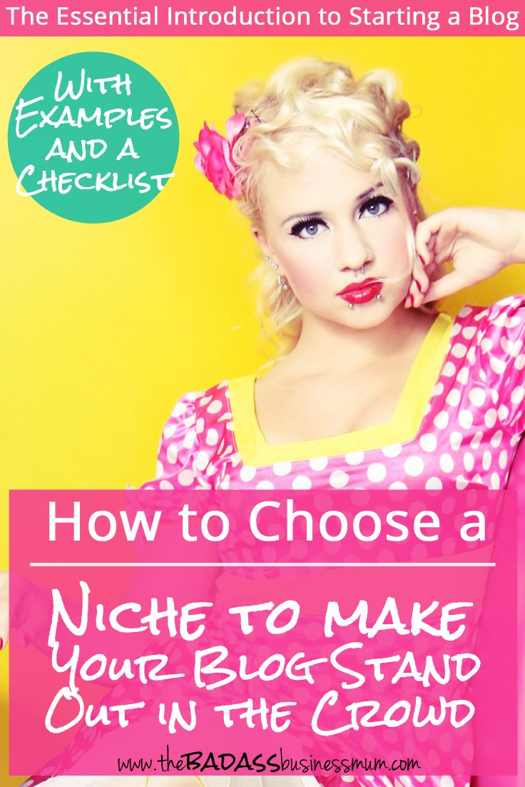Read more and Discover 5 easy tips to help you Choose a Niche to make Your Blog Stand Out in The Crowd. (PLUS grab your Free Brilliant Blog Topic Checklist)