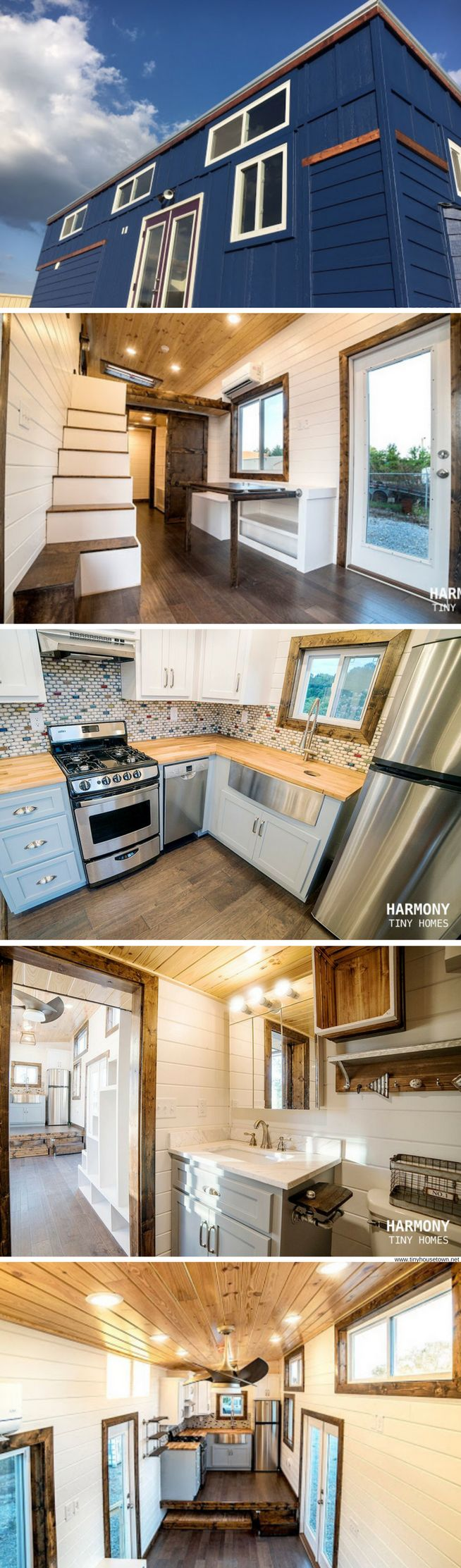 The Blue Moon from Harmony Tiny Homes