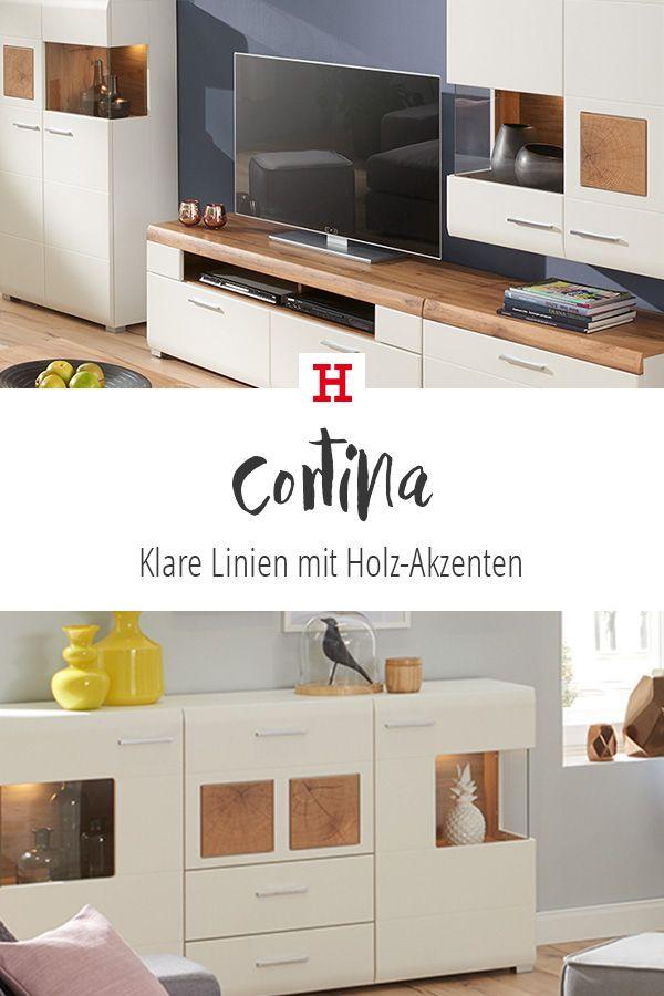 Pin von Möbel Höffner auf Wohnzimmer | Holz akzente ...