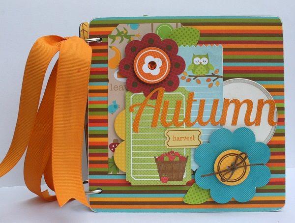 My Creative Scrapbook Autumn Mini Album - Scrapbook.com