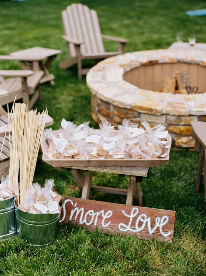 Lake Lanier Wedding Under Cozy Tent - MODwedding