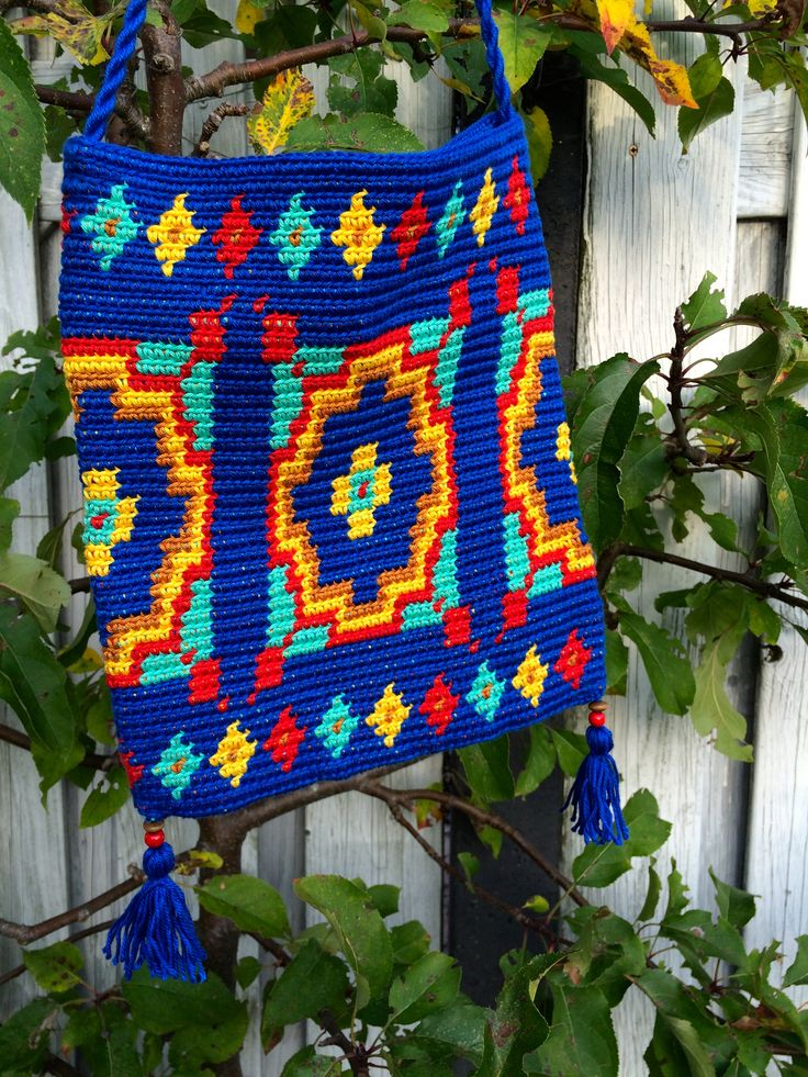 Marrakech bag Tapestry crochet