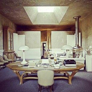 Dream Office. Xk @Kelly Teske Goldsworthy Wearstler Instagram