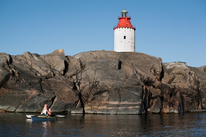 Sea kayaking, Sweden, Stockholm, Archipelago
