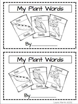 My Plant Words