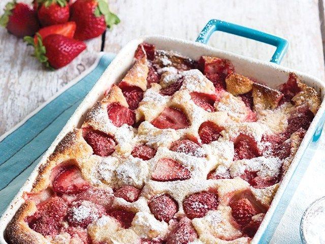 Recipe Of Strawberry Cheesecake Cobbler