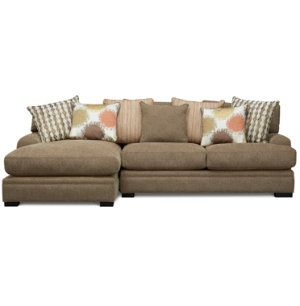 Fontaine II 2 Piece Sectional | Sectionals | Living Rooms | Art Van  Furniture   The