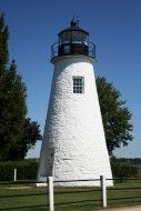 Built in 1827, the Concord Point Lighthouse is the second oldest tower lighthouse on the Chesapeake Bay. Concord & Lafayette Streets, Havre de Grace, MD 21078