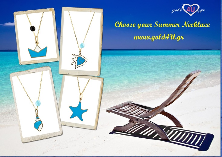 In summer mood! Find your summer necklace now!