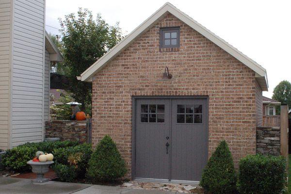 12x20 shed brick shed o u t s i d e pinterest flats for Brick garden shed designs