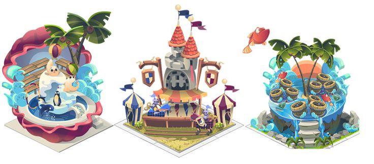 Adventure Park game on Behance