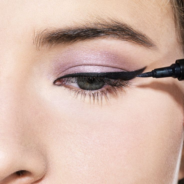 Plain old pencil? Puh-leeze! These days, eyeliners come with a crazy variety of specialized tips, from micro to oversize and even multipronged, so it's easier than ever to achieve exactly the look you want. #Makeupgoals, met!