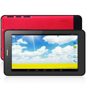737 Android 4.2 de 7 pulgadas barato 2G phablet con función de pantalla WVGA de 1,2 GHz de doble cámaras WiFi Bluetooth apoyado A23 Dual Core para Vender - La Tienda En Online IGOGO.ES