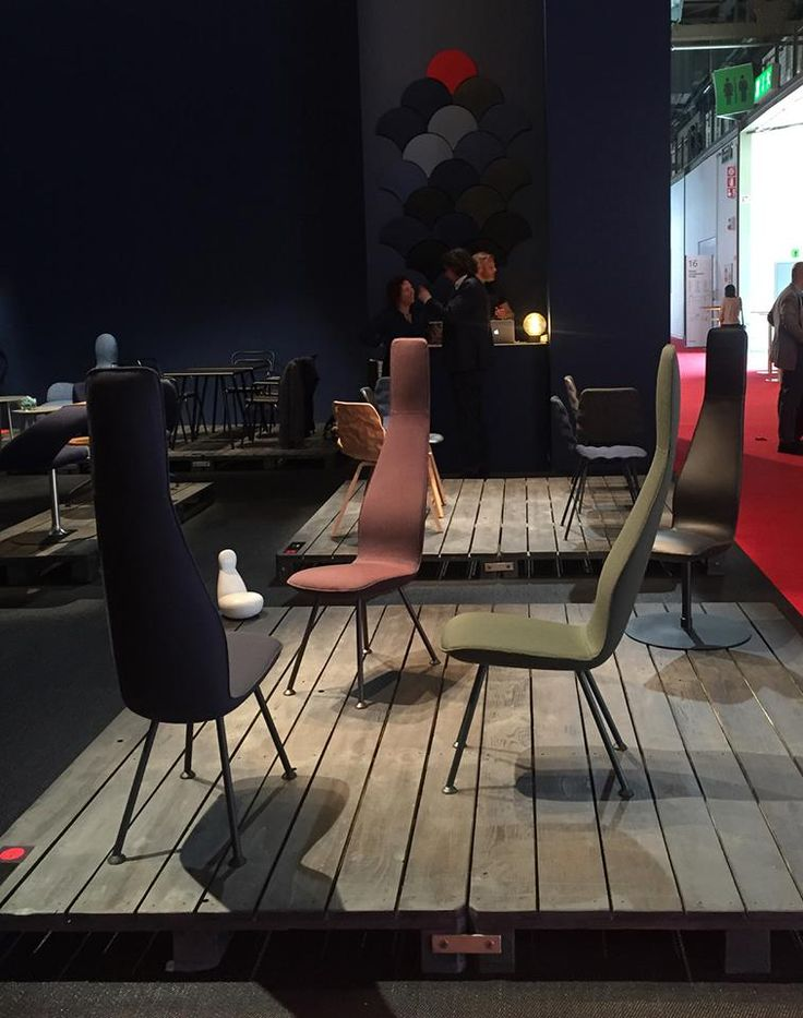We love this new Poppe chair from Bla Station - a distant relative of the widely loved and recognised Oppo family! #iSaloni2015 #Milan