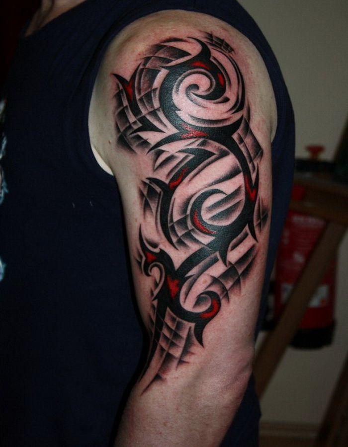 New Art Designs of Tribal Sleeve Tattoos 2014 : Tribal ...