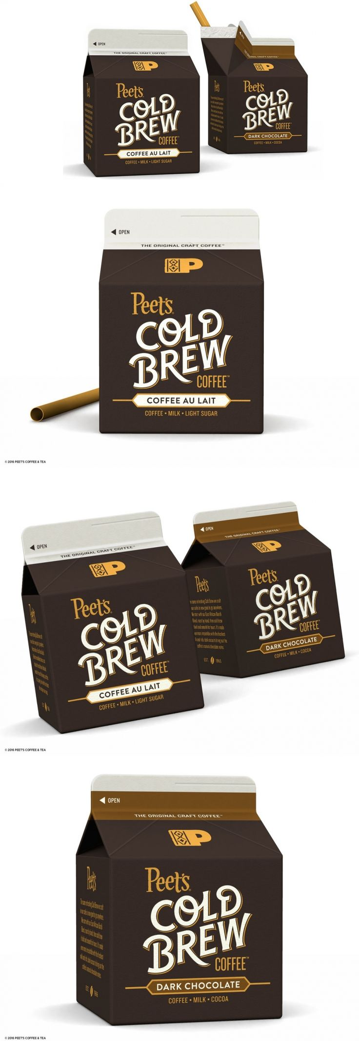 Peet's Cold Brew Coffee — The Dieline | Packaging & Branding Design & Innovation News