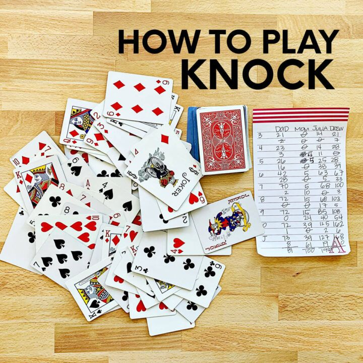 How To Play Knock Fun Card Games Card Games Family Card Games