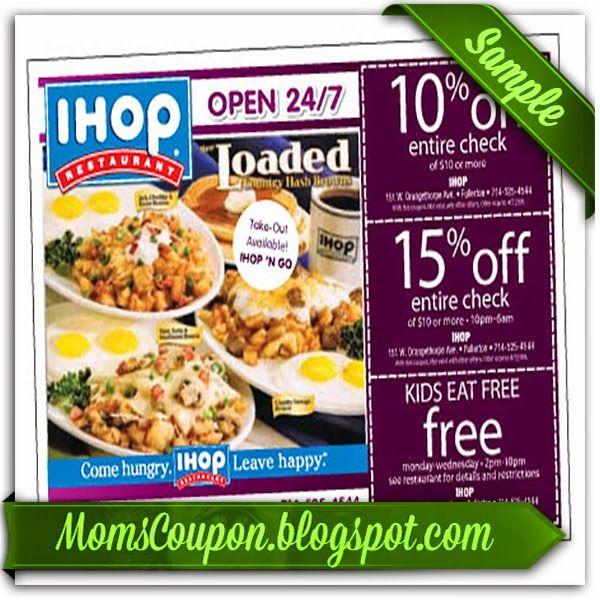 Ihop coupons canada