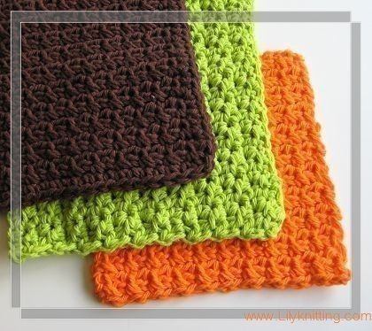 Free Crocheted Dishcloth Patterns | Crochet Guild