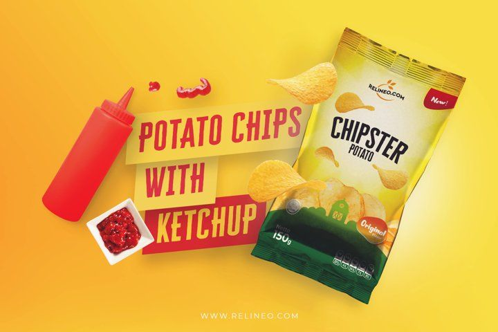 Download Chips Bag Mockup 12 654780 Products Design Bundles Bag Mockup Design Bundles Wireframe Kit