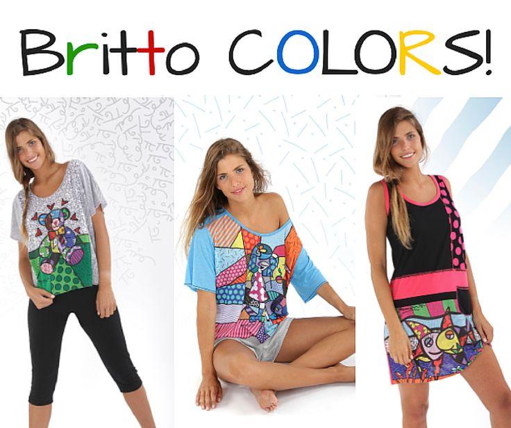 WE LOVE COLOR! Divertidos pijamas con los dibujos de @brittoofficial #Britto #Massana #Pijamas #Mujer #MassanaHomewear