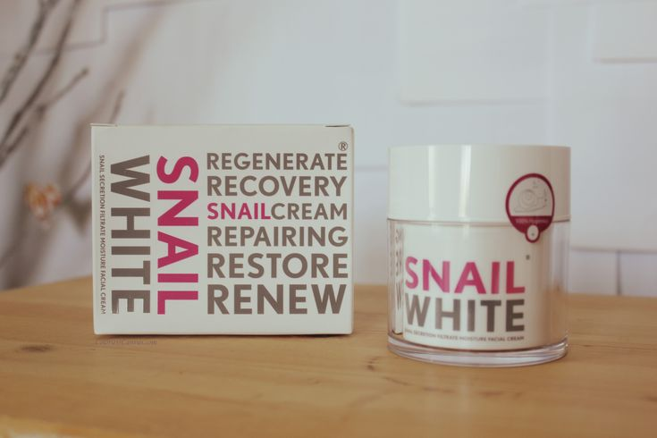 Snail White Cream Review  in English