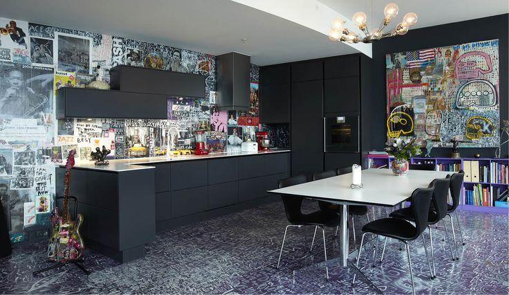 Kunstnerkøkken gør op med skandinavisk minimalisme