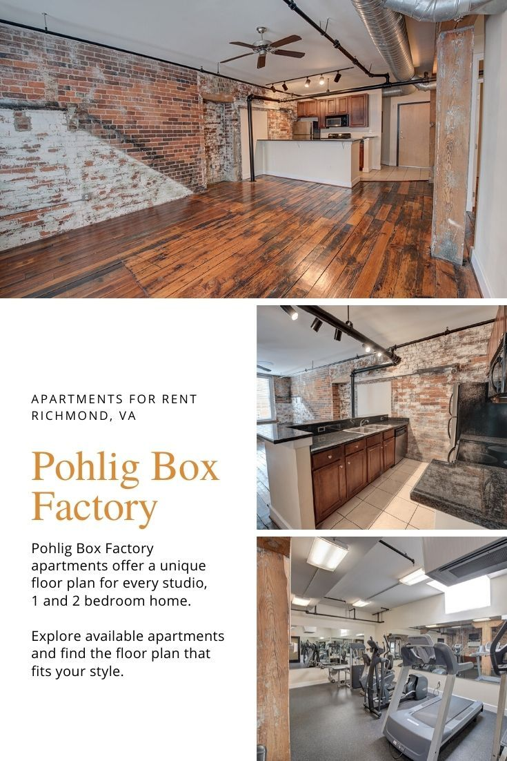 Richmond Apartments For Rent At Pohlig Box Factory Richmond Apartment Apartments For Rent Unique Floor Plans