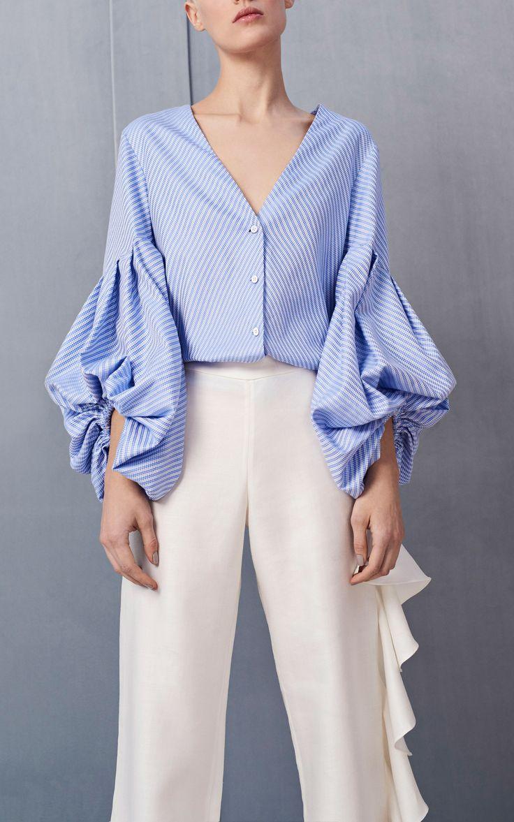 Kaia Balloon Sleeve Top by ALEXIS for Preorder on Moda Operandi