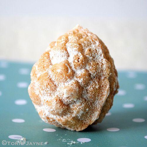 Gluten free Maple pinecone cakelete recipe by Torie Jayne
