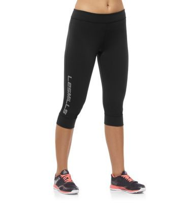 525208f1cb31c4 Reebok Women's LES MILLS Capri Tights | Official Reebok Store | I want. |  Reebok, Fitness fashion, Les mills