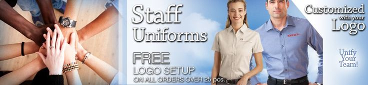 Custom Staff Uniforms | Embroidered Jackets | Logo Shirts