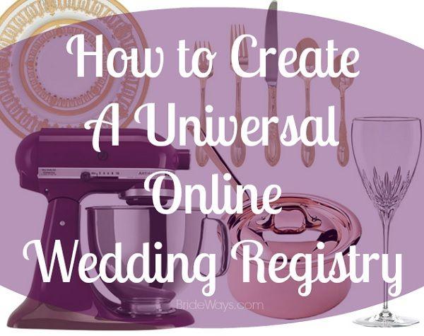 Wedding Gift Registry Website: How To Create Your Universal Online Amazon Wedding