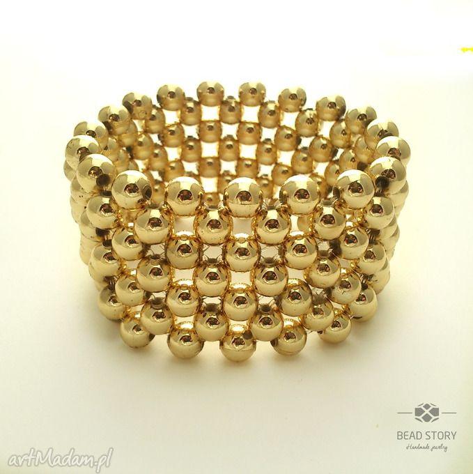 Gorączka złota - bransoletka. $9