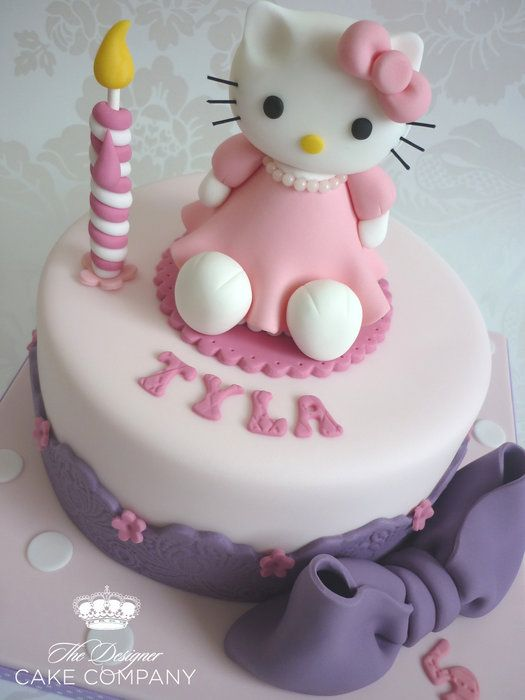 Hello Kitty birthday cake by designercakecompany Hello ...