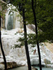 Natural thermal Springs, Bagni San Filippo, Tuscany