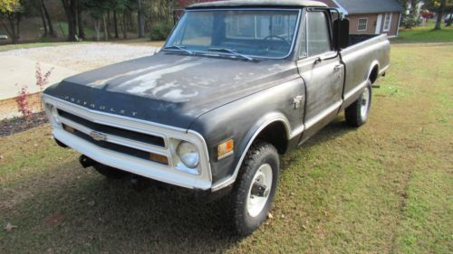 1968 Chevrolet K20 4x4 3 4 Ton Pickup Chevy Truck  Old