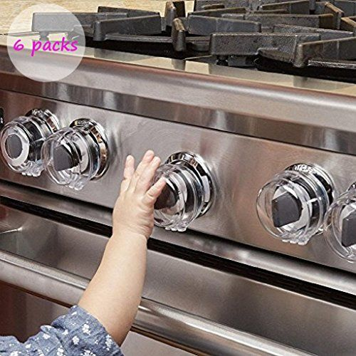 Stove Knob Covers Universal Child Proof Stove Knob Guards for Child Safety