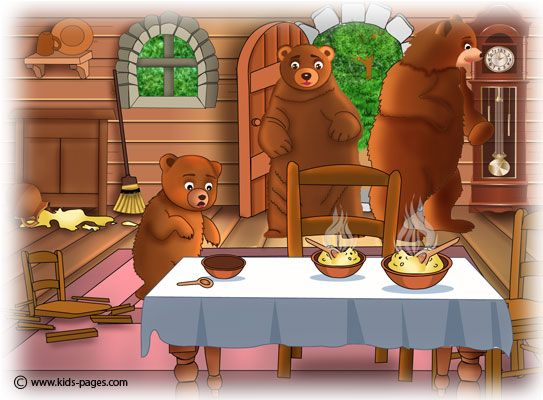 Gallery For > Goldilocks And The Three Bears Story Chairs