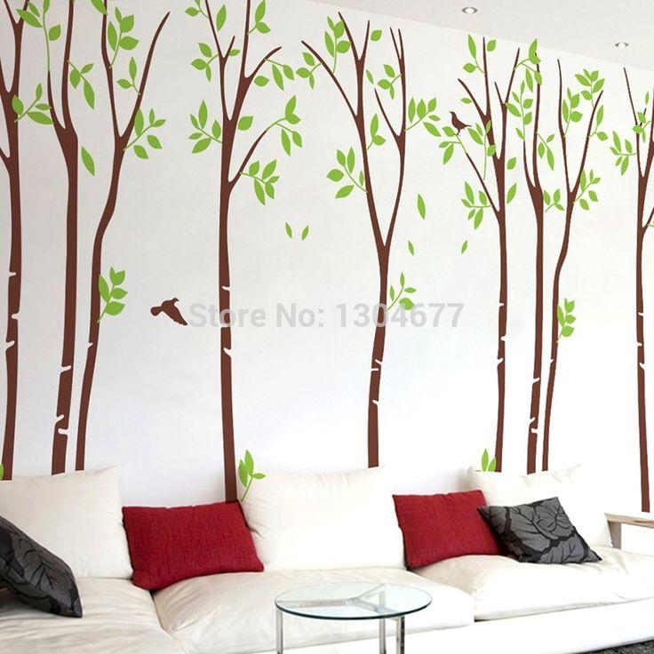 Meer dan 1000 idee n over bos kamer op pinterest bos slaapkamer luchtverlichte slaapkamer en - Muur kamer kind ...
