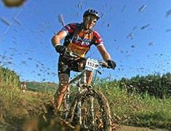 Hope you're not afraid of dirt! Hit the single track trails in South Africa for some awesome mountain biking!