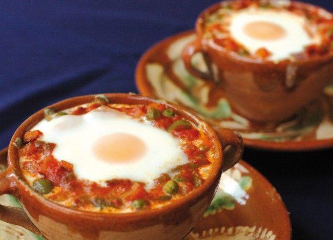 Receta Huevos a la Flamenca