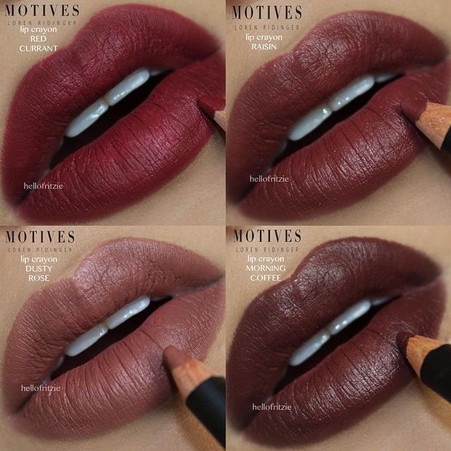 Lips Crayons for Fall