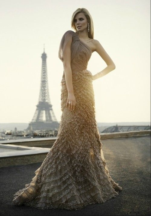 8 minutes to a better day!  A great blog for health, fitness and motivation.: Long Dresses, Paris, Eliesaab, Charlize Theron, Elie Saab, Eiffel Towers, Charlizetheron, Stunning Dresses, Haute Couture