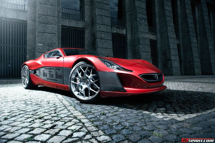 New Supercar is born . Rimac Concept One