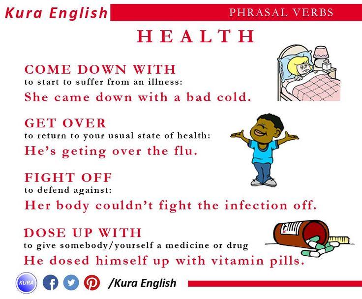 Phrasal Verbs: Health
